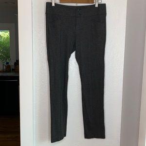 Cabi grey stretch wide waist band pants slacks